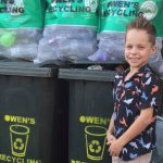 Recycling role model shares big plans for cashing in on empty containers