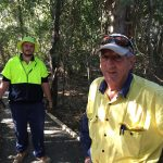 Rob's trainees help restore a 'little serenity' to a corner of Bundy