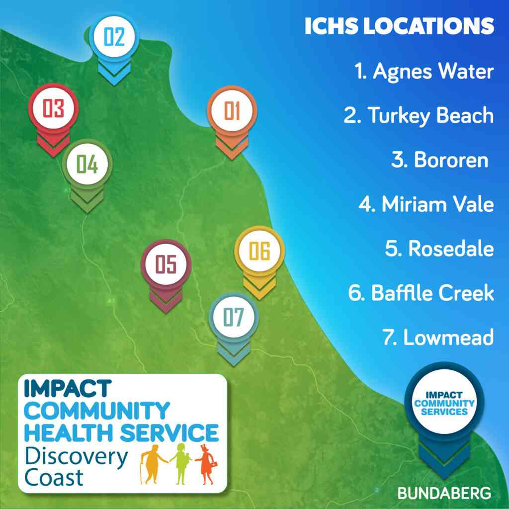 IMPACT Community Health Service  map
