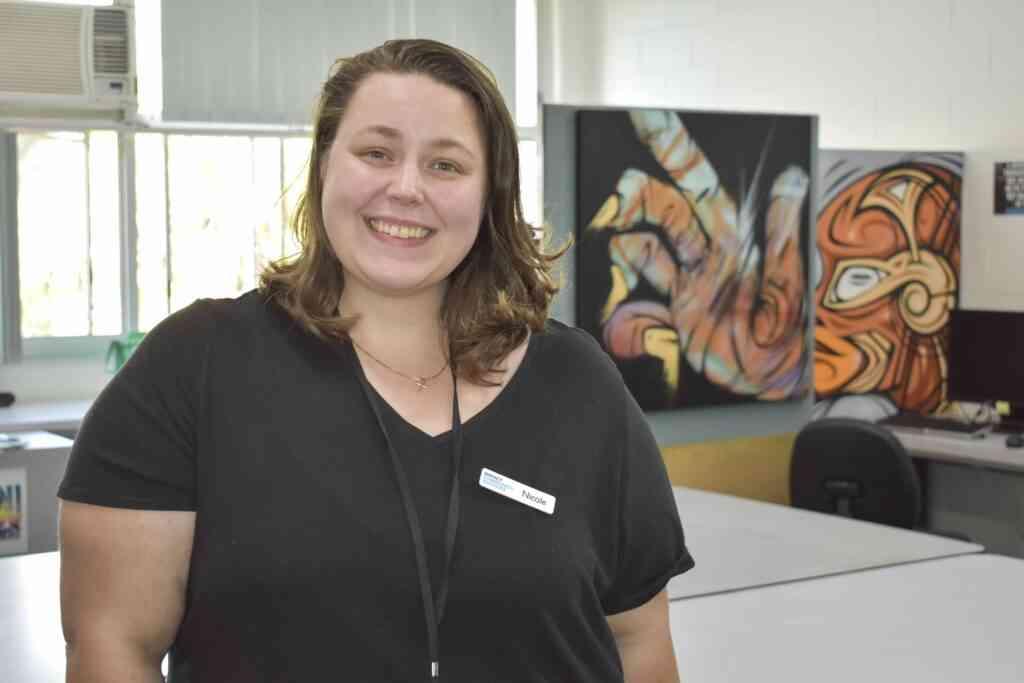 Get Set for Work Youth Worker Nicole Steffenhagen